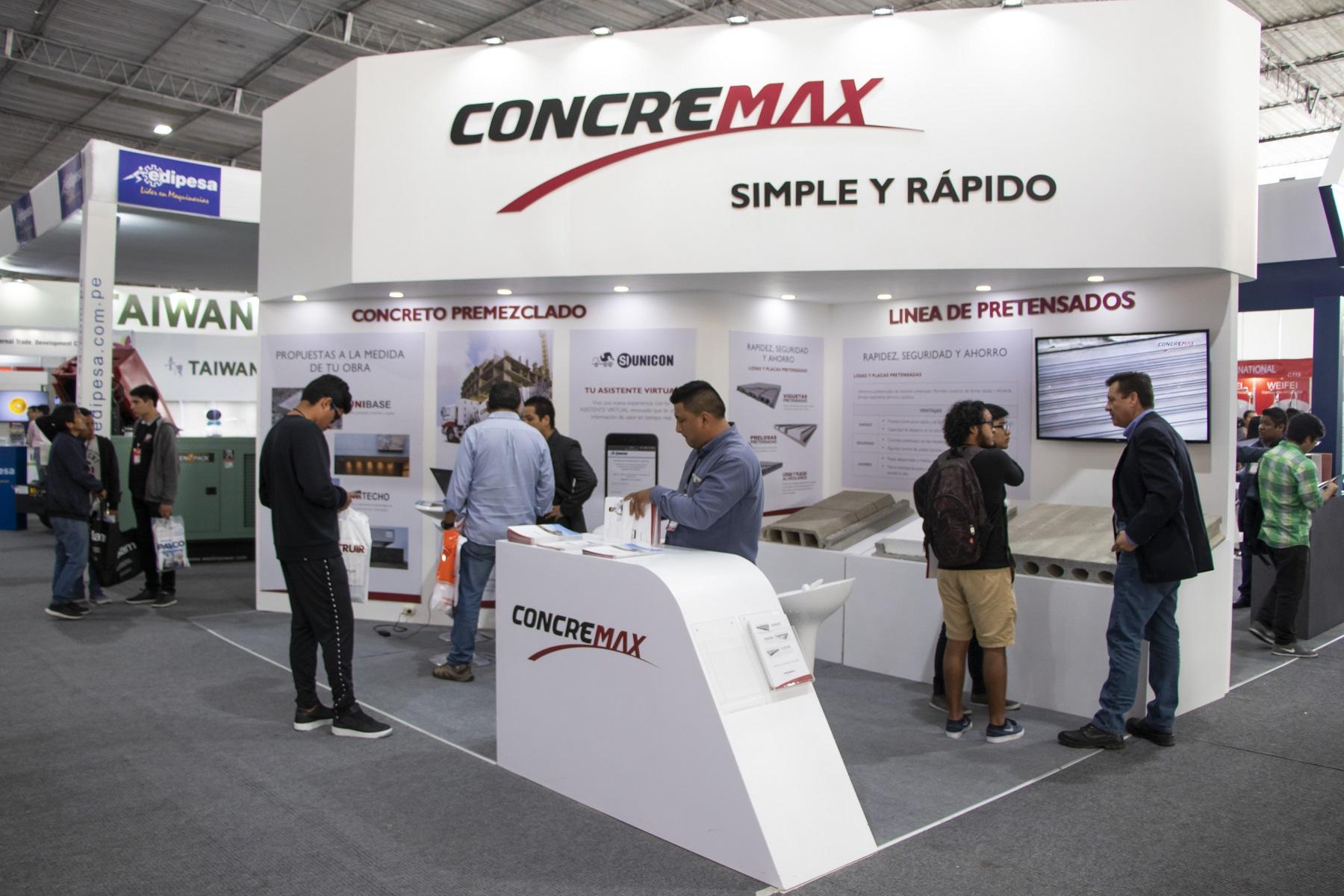 CONCREMAX participó en la feria EXCON 2018